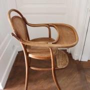 chaise haute enfant thonet fin XIXè