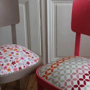 Paire de chaises Thonet bistrot rénovées