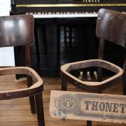 Paire de chaises Thonet bistrot